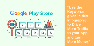 popular and most searched keyword on google play store in 2017